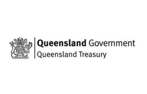 Queensland Treasury logo