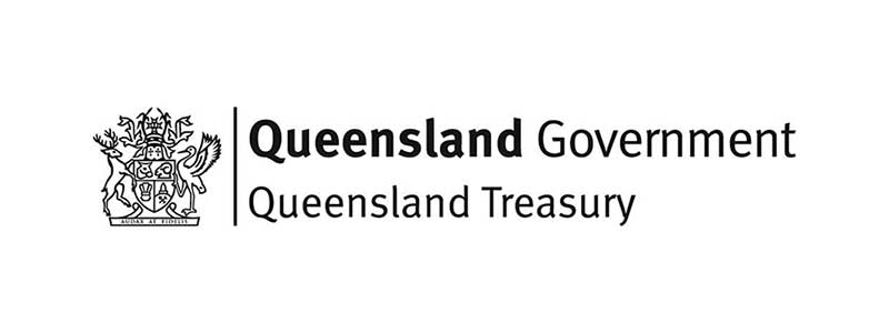 Queensland Treasury logo