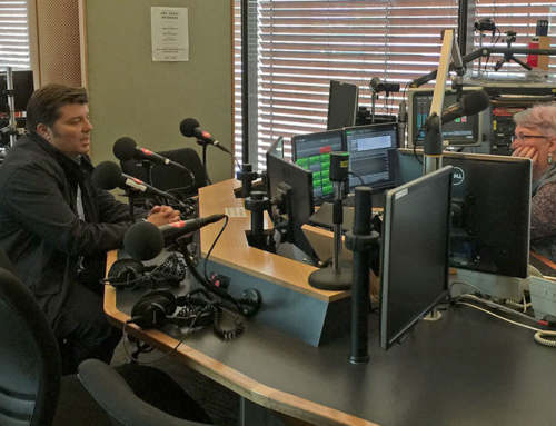 Discussing all things odour-related on ABC Radio
