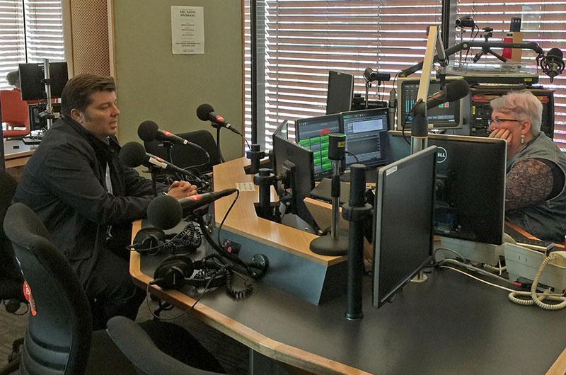 Andrew Balch talks on ABC Radio