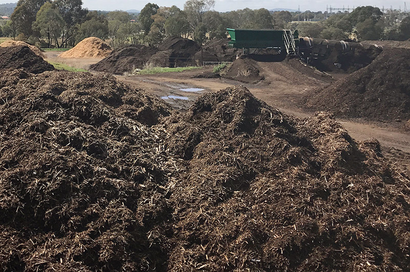 Windrow composting