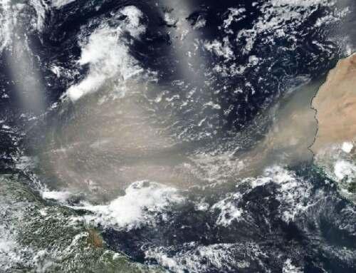 Godzilla Dust Plume Crosses The Atlantic